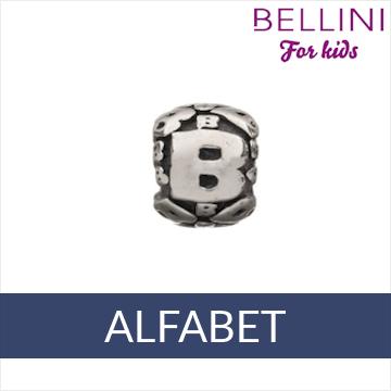 Bellini zilveren alfabet bedels