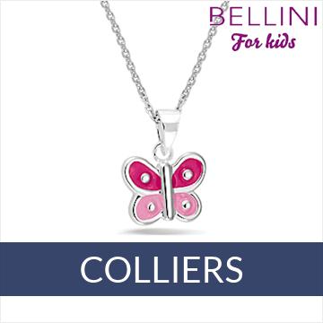 Bellini zilveren kinder colliers