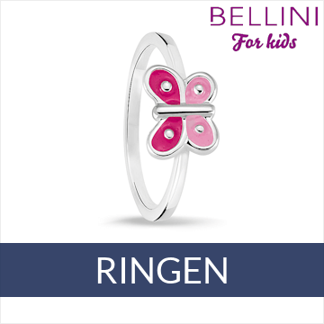Bellini zilveren kinder ringen