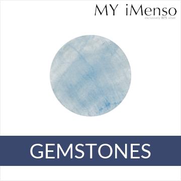 MY iMenso Mezza edelsteen insignia's 24mm